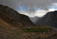 Storm sky, Spiti Valley