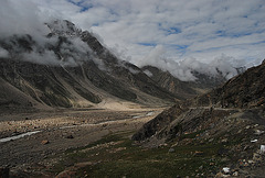Sky over valley, Spiti
