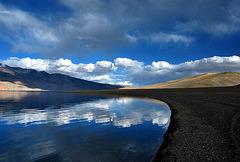 Tso(Lake) Moriri sky