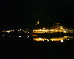 Flensburger Hafen bei Nacht - IMG02771