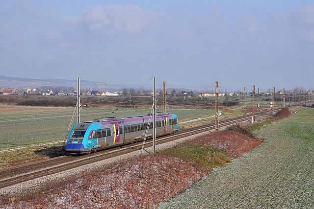 X 72500 Pays de la Loire en Bourgogne