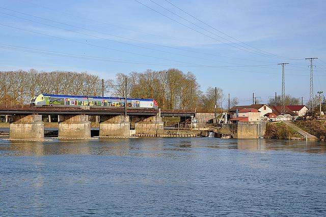 Un pelliculé sur la Saône