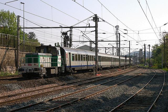 Y 8000 en manœuvre à Besançon