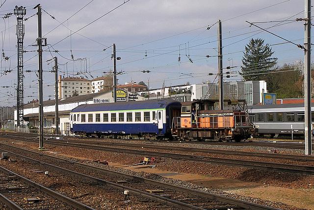 Manœuvre en gare Viotte