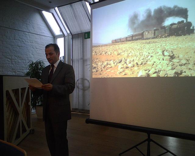 Konzert des Stormarner Kulturforum der Sozialdemokratie - Grußwort d. Vorsitzenden d. muslimischen Gemeinden in SH - IMG02983