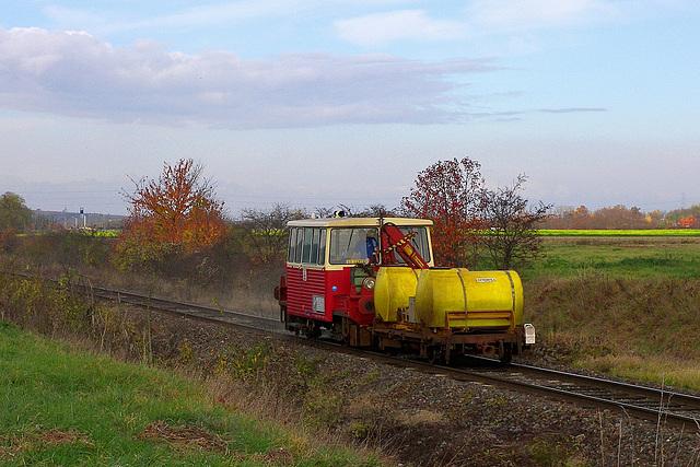 Nettoyage de rails