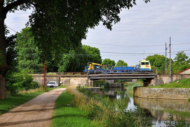 Draisine sur la Saône