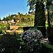 Los jardines del Generalife desde el Parador de San Francisco. Granada.