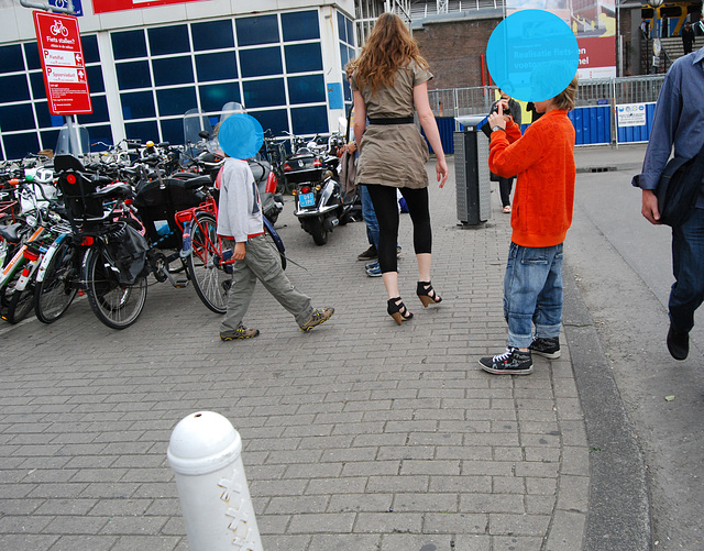Amsterdam by the heels / Les talons hauts de Amsterdam - 8 juillet 2011.