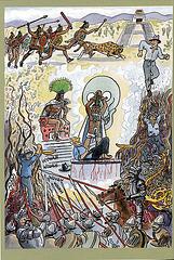 Golo: B.Traven - portreto de fama nekonatulo, cirklo, sceno el la komikso