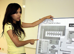Propuesta Arquitectónica Casa de Cultura de los Pueblos del Desierto/Samalayuca.