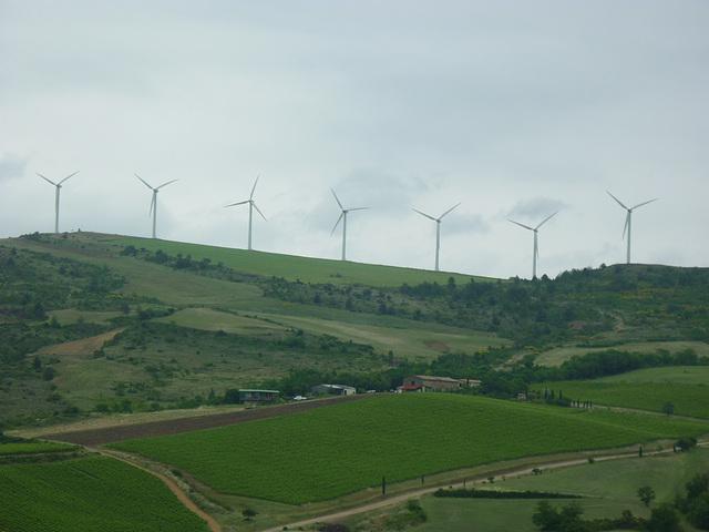 Champs d'éoliennes de Magrie
