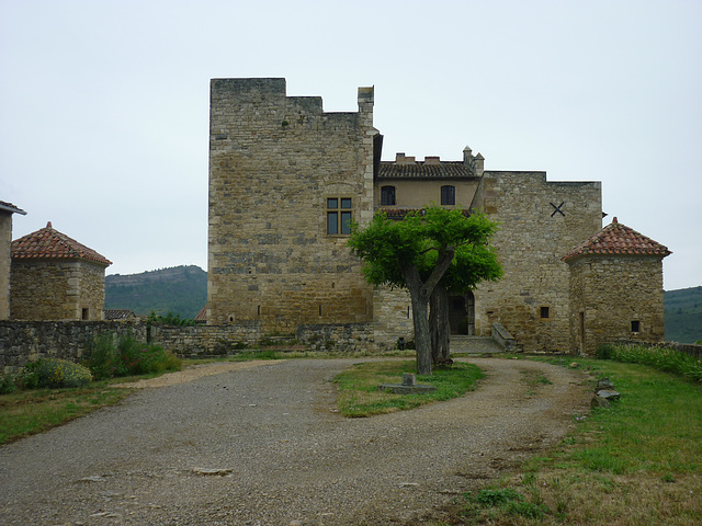 Roquetaillade Le chateau