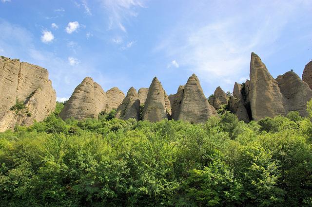 les Pénitents, Village des Mées