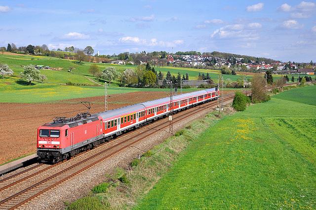 Regionalbahn campagnard