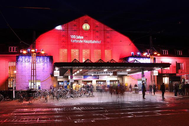 Karlsruhe-Hauptbahnhof fête son centenaire