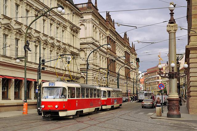 Transport urbain tchèque