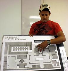 Presentación de los proyectos Arquitectónicos para la Construcción de Casa de Cultura de los Pueblos del Desierto/Samalayuca.
