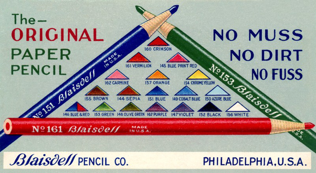 The Original Paper Pencil—No Muss, No Dirt, No Fuss