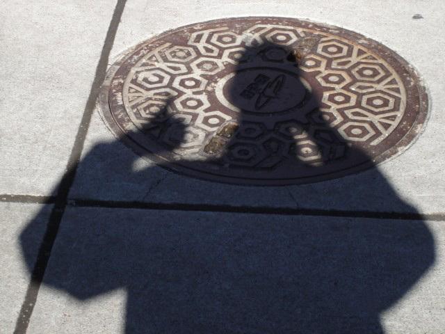 Just me the anonymous shadowman !  Juste moi dans une folie ombragée !