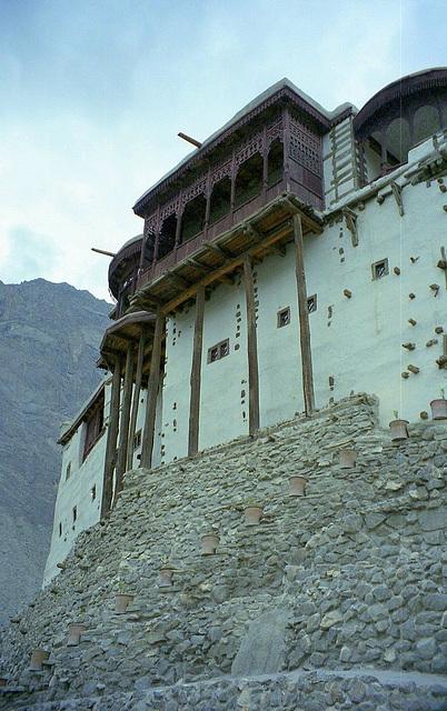 Baltit Fort. Far North Pakistan