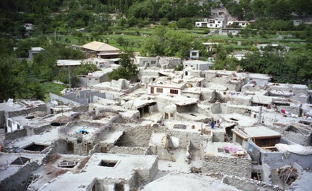 Roofs..far North Pakistan