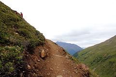 Anstieg zur Oberetteshütte