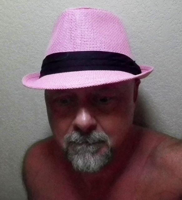 New Pink Hat (0098)