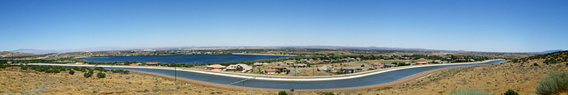 Lake Palmdale & California Aqueduct