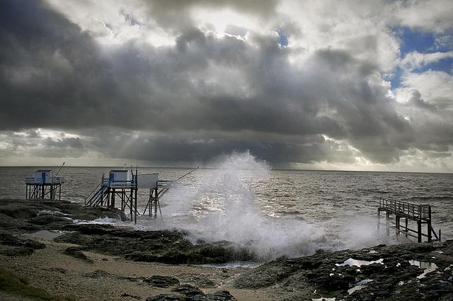Avis de tempête [Estuaire de la Gironde]