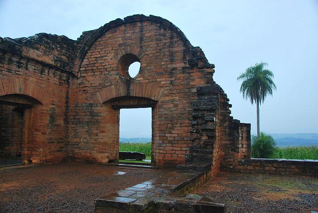 Paraguay. Jesuit  Guarani Mission (1705)