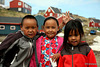 Inuit kids from Kulusuk, Greenland
