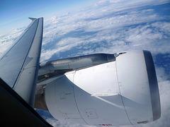 Tragfläche und Triebwerk - A320