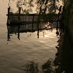 Reflets sur un canal