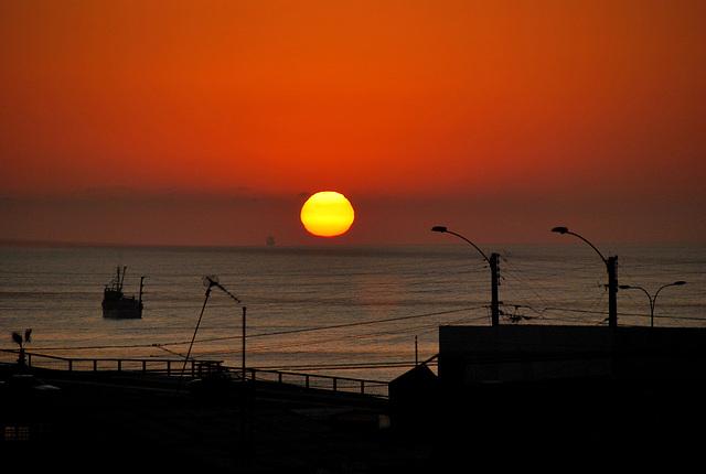 Sunset. Arica. Chile