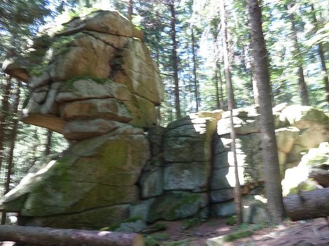 Sfinkso survoje al la Bovina monto (Kraví hora)