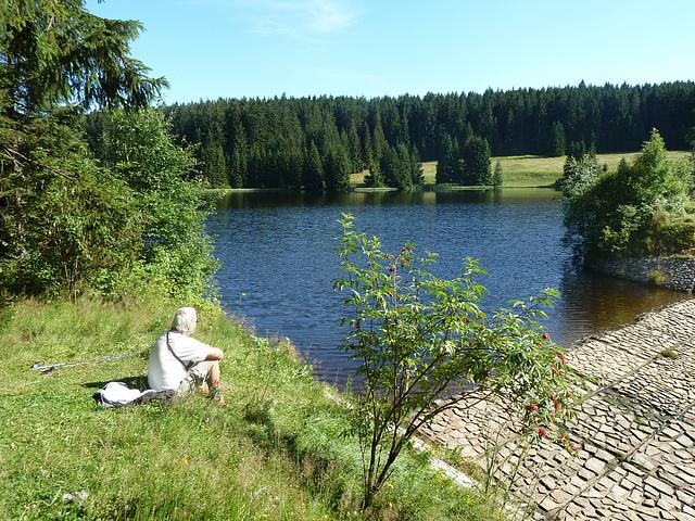 Lago Zlatý Ktiš (kun mia edzo)