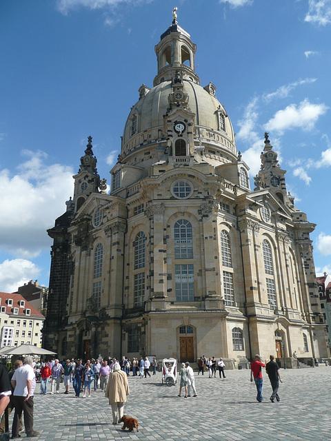 Dresden Frauenkirche - Sonntag 28.08.2011