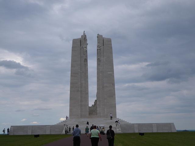 Mémorial franco-canadien de Vimy.