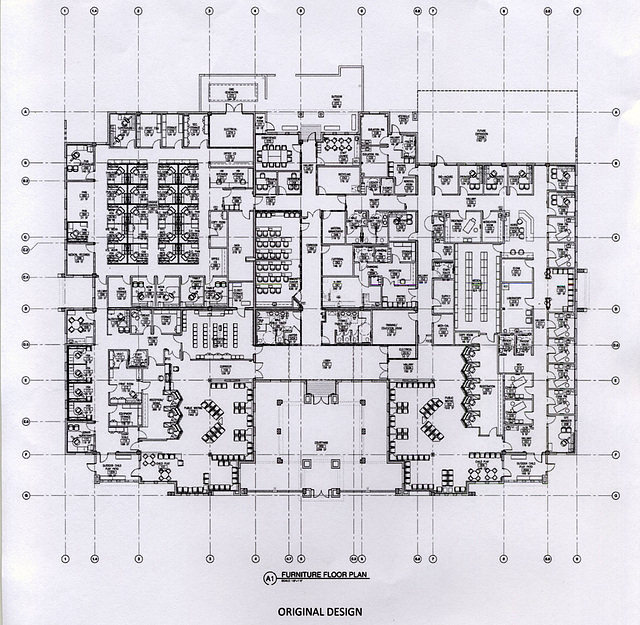 Riverside County DHS Family Care Center - Floor Plan