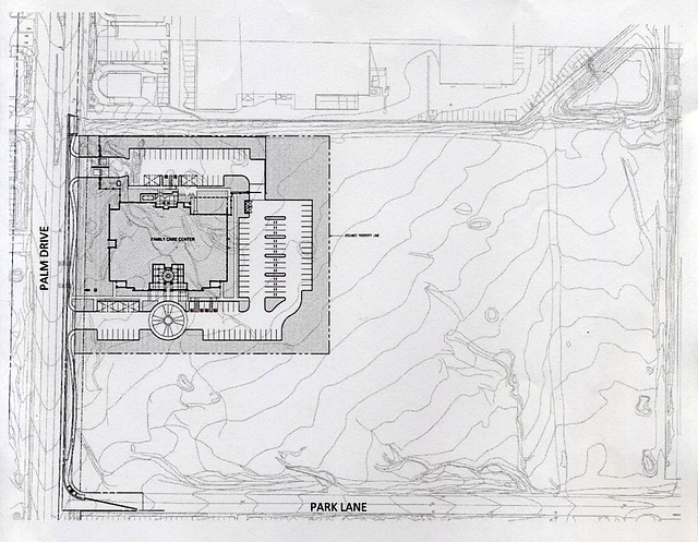 Riverside County DHS Family Care Center - Overall Site Plan