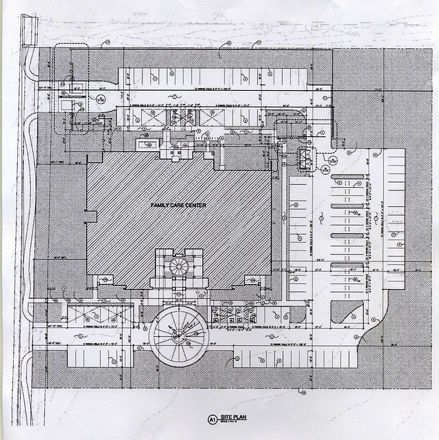 Riverside County DHS Family Care Center - Site Plan