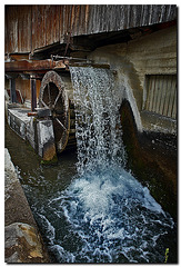 Mühle Nähe Manigod