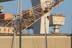 La ciotat- grue du port