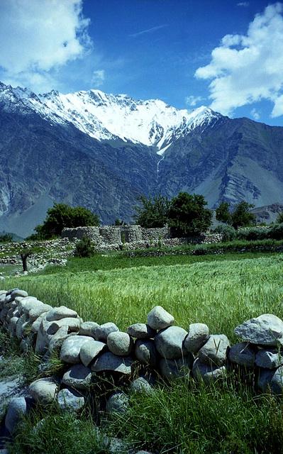 Passu. North Pakistan