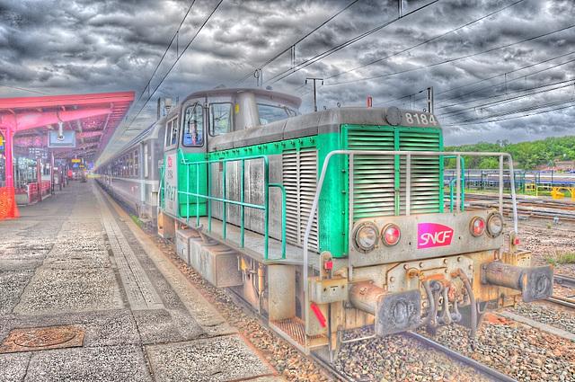 Y 8000 HDR eb gare de Strasbourg