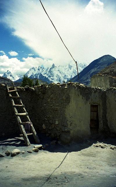 Passu. Far North Pakistan