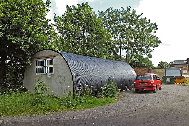 Nissen Hut, Pooley Hall