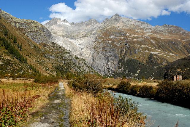 Glacier  d' Aletsch...