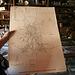 Cerro Gordo Museum - Map Of The Mines (0464)